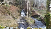 Random waterfall by Loch Awe